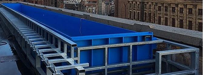 Hdpe of polyethyleen zwembad aanleggen prijs tips for Zwembad plastic